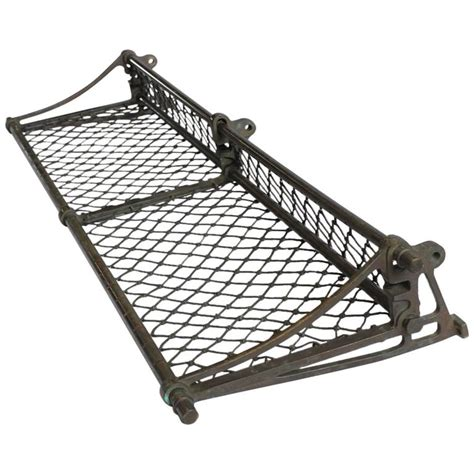 antique luggage rack antique american train luggage rack for sale at 1stdibs