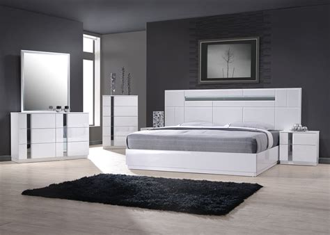 Exclusive Wood Contemporary Modern Bedroom Sets Los Modern Italian Furniture Design