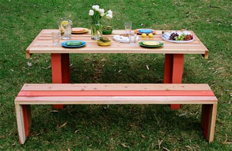 backyard table set sr white oak table set for your stylish picnic experience