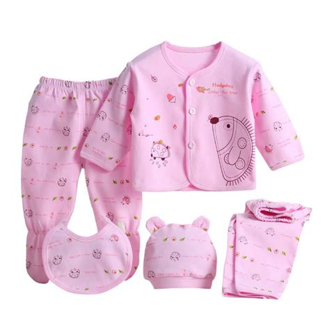 newborn clothing sets aliexpress buy 5 pieces set newborn baby clothing