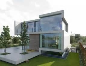 contemporary white villa design equipped ultra modern