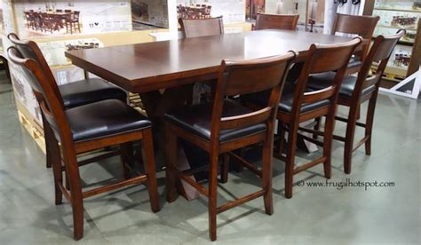 Costco Furniture Dining Set by Costco Hillsdale Furniture 9 Pc Counter Height Dining Set 1 149 99 Frugal Hotspot