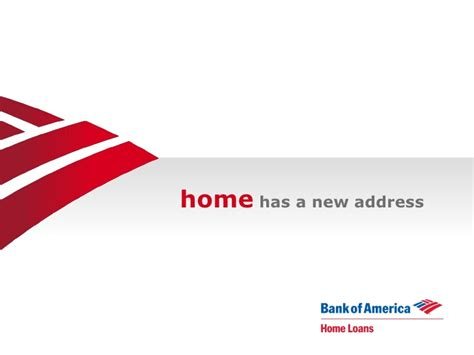 bank of america house loans welcome to bank of america home loans