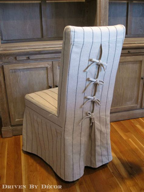 decorative slipcovers dress up your dining chairs corseted slipcovers driven