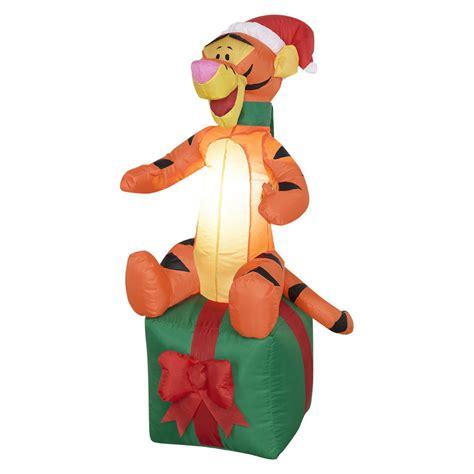 4ft airblown christmas tigger