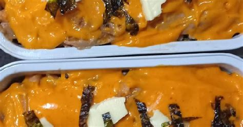 resep salmon mentai enak  sederhana cookpad