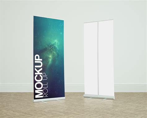 Premium Roll Up Mockup   Premium and Free Graphic Resources