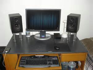 speaker stands risers for desk