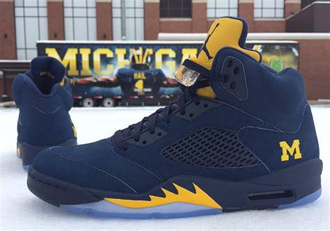 michigan basketball shoes air 5 michigan pe 2016 sneakernews