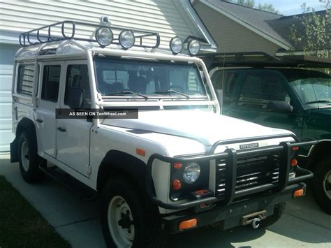 1993 land rover defender 110 base sport utility 4 door 3 9l
