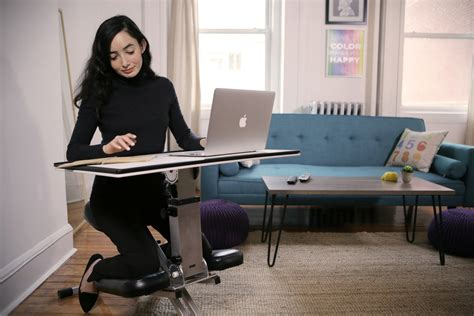 Desk Pop by Pop Up Desk Provides Seating Work Surface Anywhere You Need It
