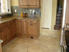 attractive Lowes Kitchen Floor Tile #1: Kitchens5L-Porcelain-Kitchen-St-Louis-Tile-Floor-with-Slate-Backsplash-and-Natural-Maple-Kitchen-Cabinets.jpg