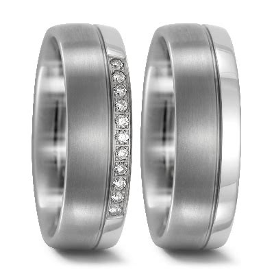 wedding rings titanium 546957 and 546958 from