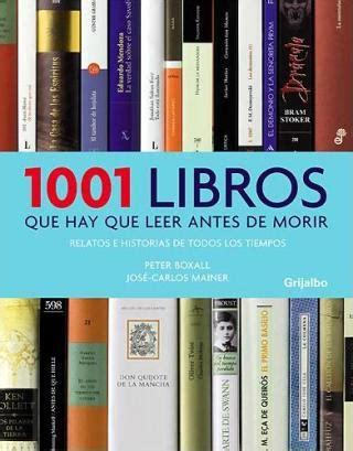Lista 1001 Libros Que Hay Que Leer Antes De Morir | 1001 libros que hay que leer antes de morir la lune en rouge