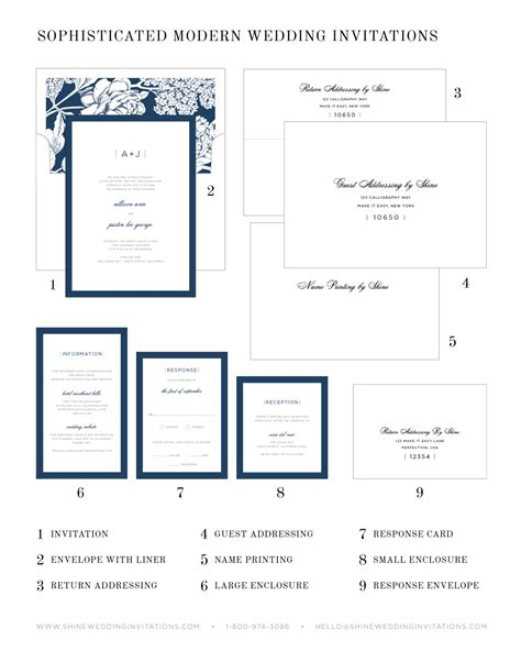 Wedding Invitation Pieces sophisticated modern wedding invitations wedding