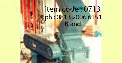 Jual Cutting Machine Cutter Batu Cater Batu produsen alat lab teknik sipil indonesia jual hammer mill