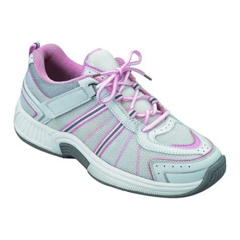 ortho womens tie less orthopedic athletic shoes