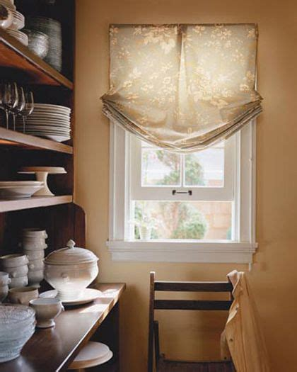 non fabric window treatments shades relaxed valance kitchen non functioning