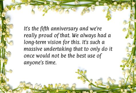 Wedding Congratulations Verbiage by Company Anniversary Quotes