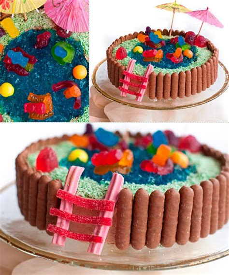 50 amazing and easy kids cakes swimming pool cake