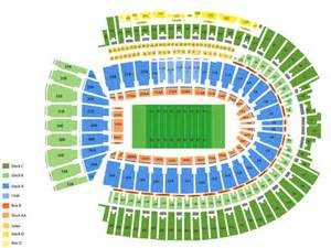 Ohio State Stadium Map by Viptix Com Ohio Stadium Tickets