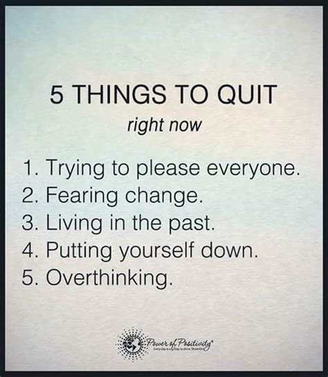 7 Things Thats Right Now by 5 Things To Quit Victoryforu