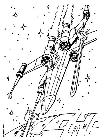 coloring page x wing star wars coloring page x wing fighter coloring page
