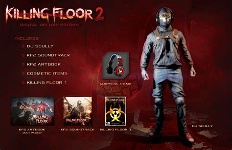 killing floor 2 gets pc requirements digital deluxe edition