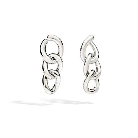 orecchini pomellato argento pomellato 67 orecchini in argento catena o b318 a
