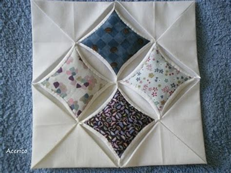 Cathedral Window Patchwork Pincushion - 1000 ideas about cathedral windows on church