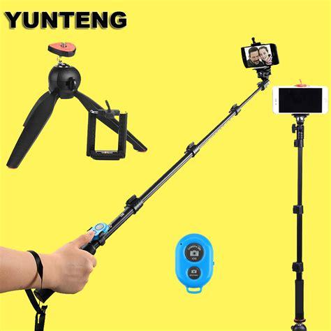 Paket Tongsis Yunteng Bluetooth Mini Tripod Yunteng 1 yunteng 188 handheld extendable tripod monopod 228 mini tripod for iso andriod mobile cell