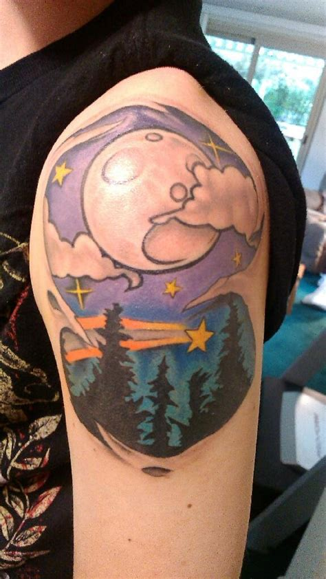 tattoo of us last night sky tattoos designs ideas and meaning tattoos for you