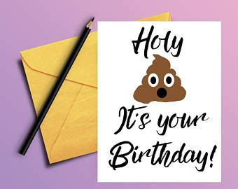 printable birthday cards adults funny adult humor card etsy