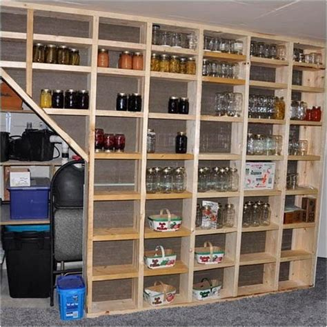 shelf storage ideas 20 clever basement storage ideas hative