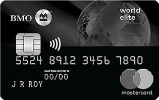 regions business credit card mastercard world elite travel credit card bmo