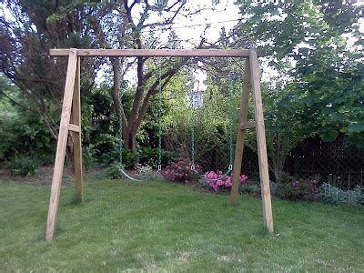simple swing sets simple a frame swing set maybe for walter pinterest