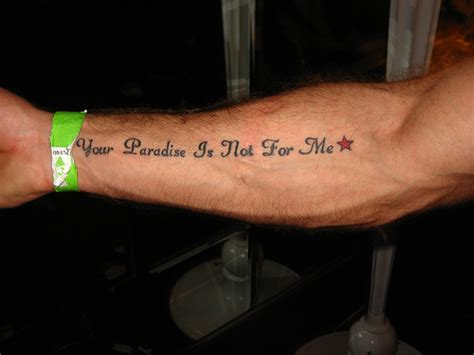 forearm quote tattoos arm quotes tattoos for quotesgram