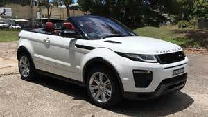 range rover evoque convertible hse dynamic si4 2017 review