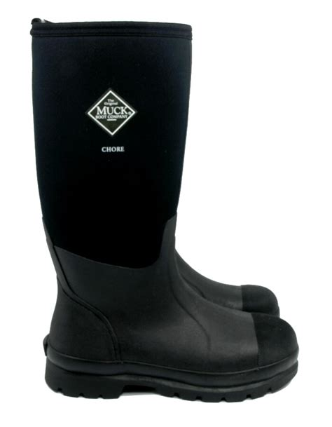 muck boots muck boot chore hi black 163 90 garden4less uk shop
