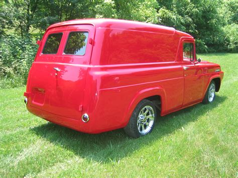 57 Ford Truck by Doug Jenkins Garage 1957 Ford Panel Truck Archives Doug