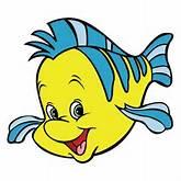Flounder The Little Mermaid Vinyl Die Cut Decal Sticker 4 Sizes | eBay
