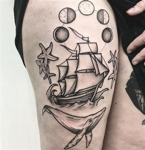 tattoo old school motive schiff tattoos und ihre bedeutungen
