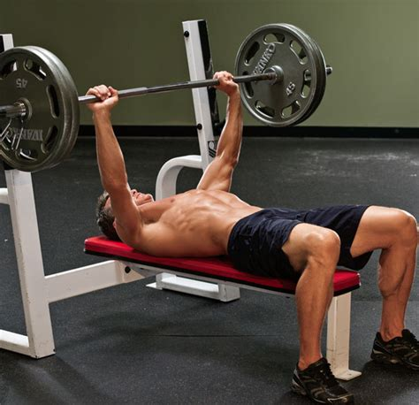bench press how low chest exercises for bigger pecs muscle fitness