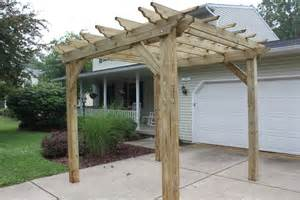 Images Of A Pergola by Pergolas Arbors And Garden Structures Building Our Farm