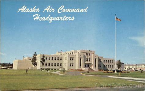 alaska air command headquarters elmendorf air base