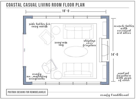 living room floor planner how to furnish a room with no wall space as featured on remodelaholic postbox designs