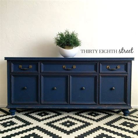 blue painted furniture best 25 refinished buffet ideas on pinterest dining
