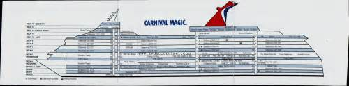 Carnival Cruise Ship Floor Plans by Click Image For Larger
