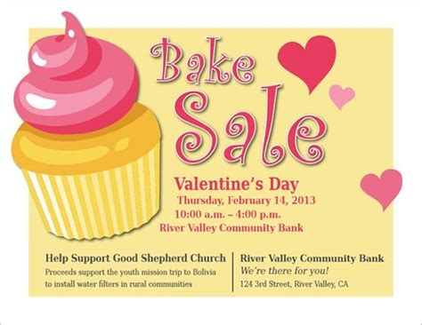 bake sale template bake sale flyer templates stackerx within s