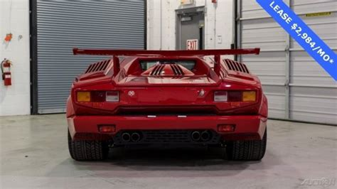 how cars run 1990 lamborghini countach auto manual 1990 lamborghini countach carbureted 25th anniversary manual for sale lamborghini countach